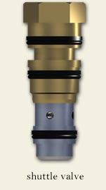 HWH Replacement Part - Shuttle Valve